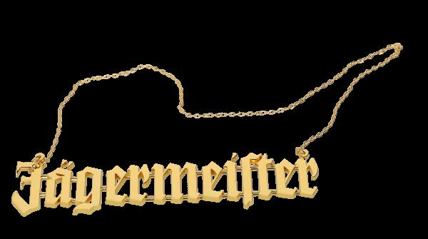 Große Goldkette