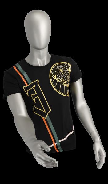 """T-Shirt, """"J"""", gold"""