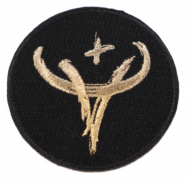 Patch golden stag